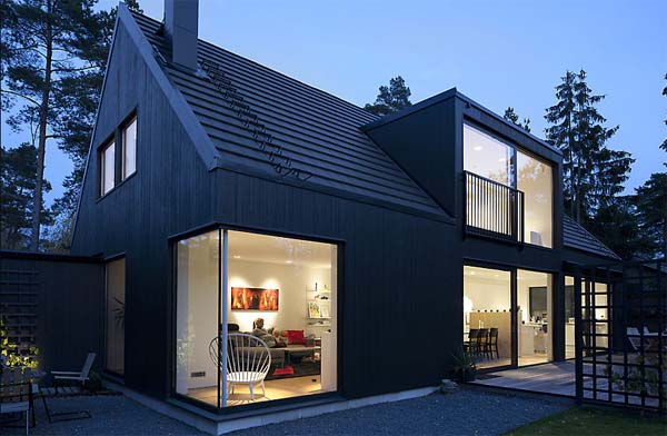 Swedish Combination Of Traditional Elements And Modern